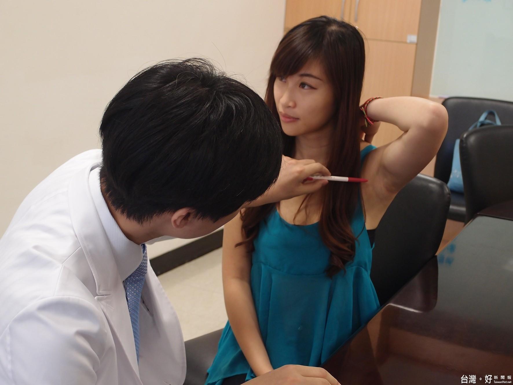 狐臭惱人妙齡女性離不開止汗膏 微波療法有效果