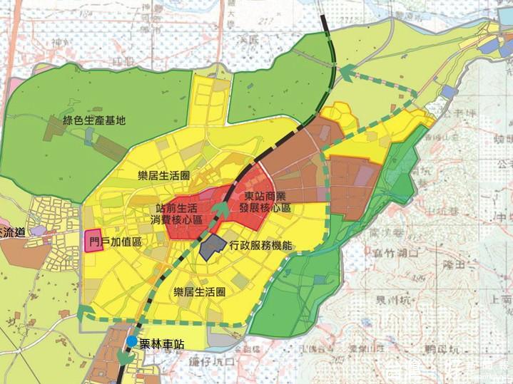 盘石岭林场地图