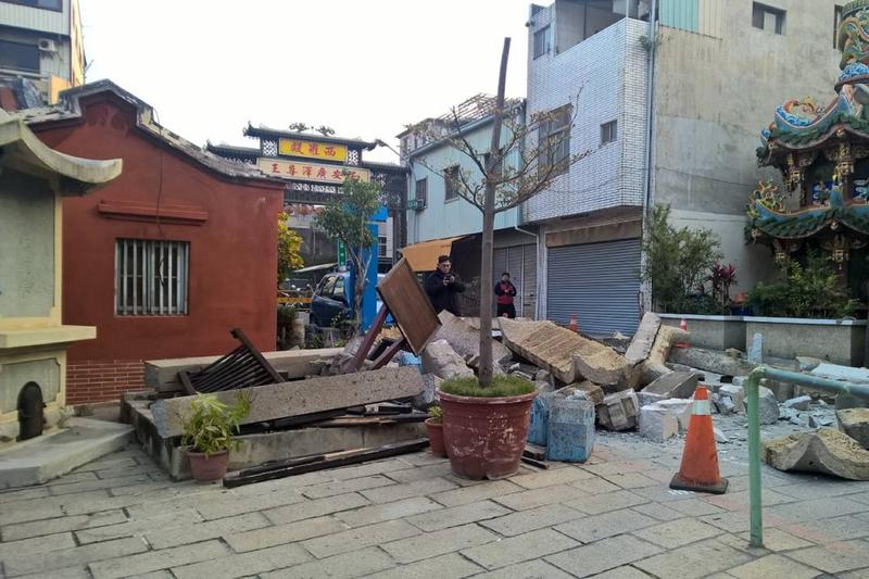 台南大地震 24處古蹟受損