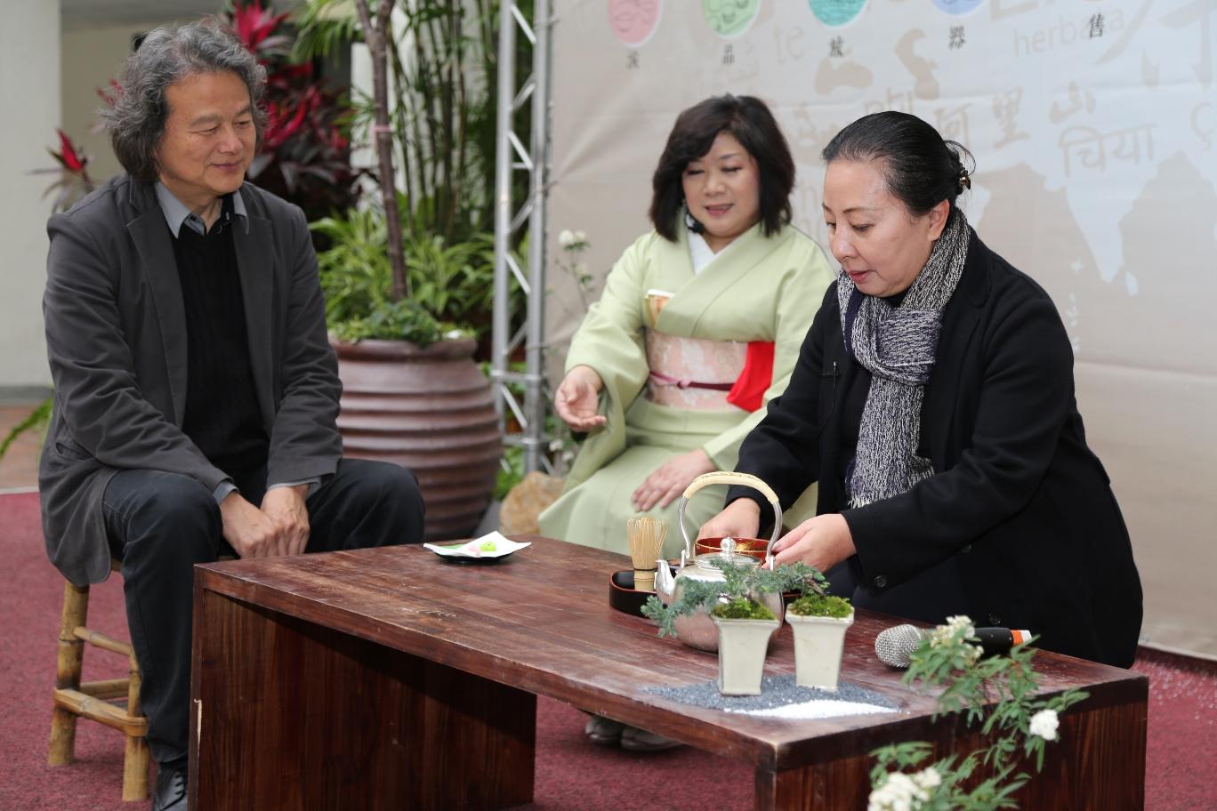 2016世界搏茶會 匯集6國茶文化、15國名家茶器