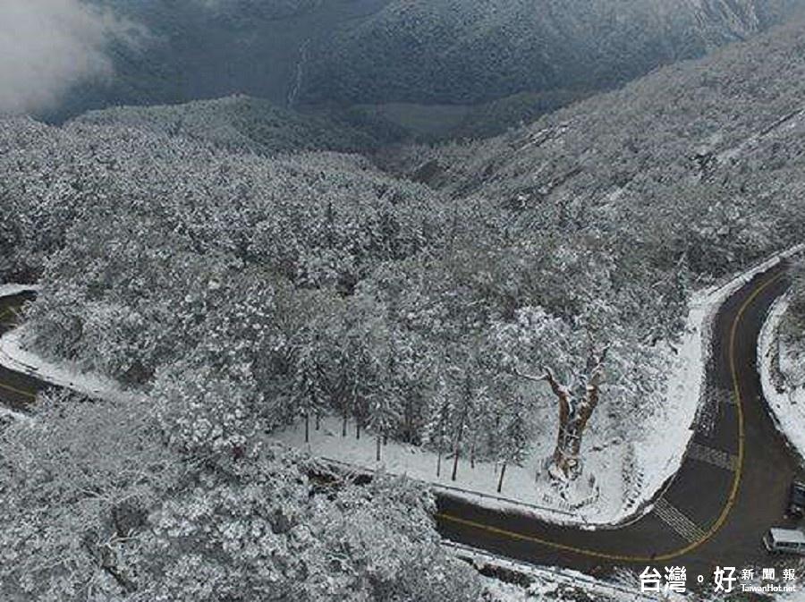 強烈寒流來襲 太平山實施機動管制