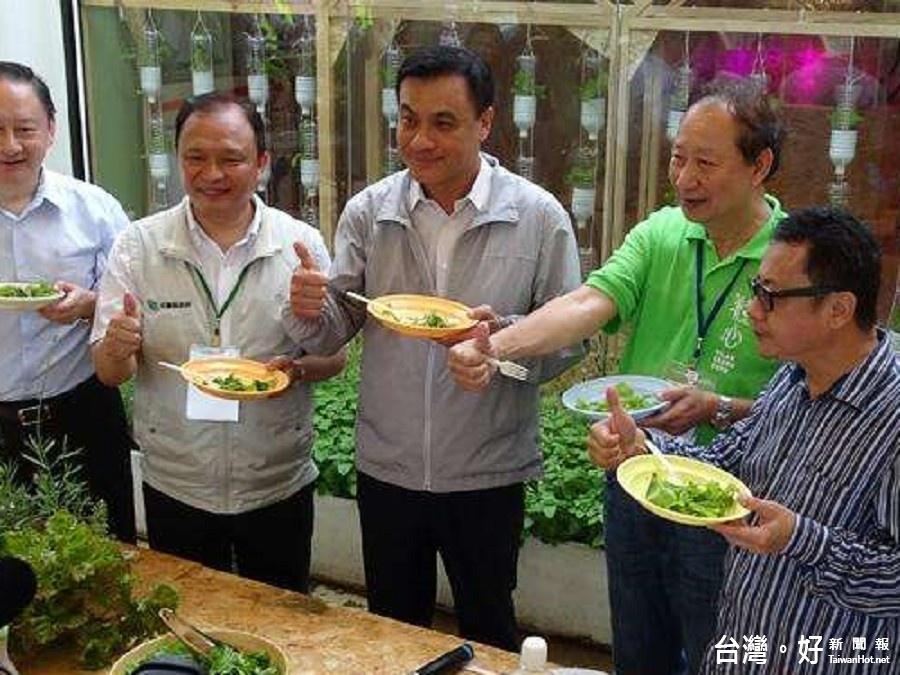 首次參訪綠博 蘇嘉全:看見了台灣農業的新希望