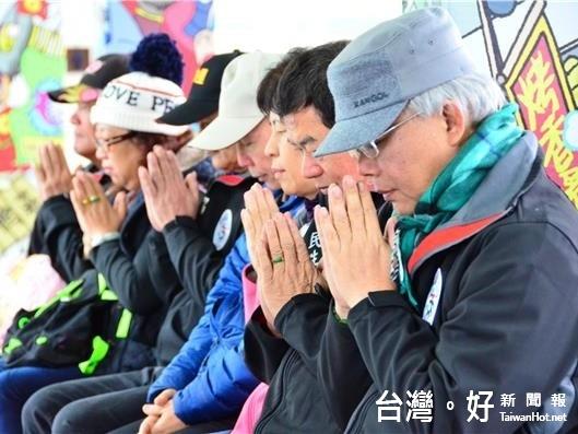 花蓮公所新春團拜 為台南震災默哀