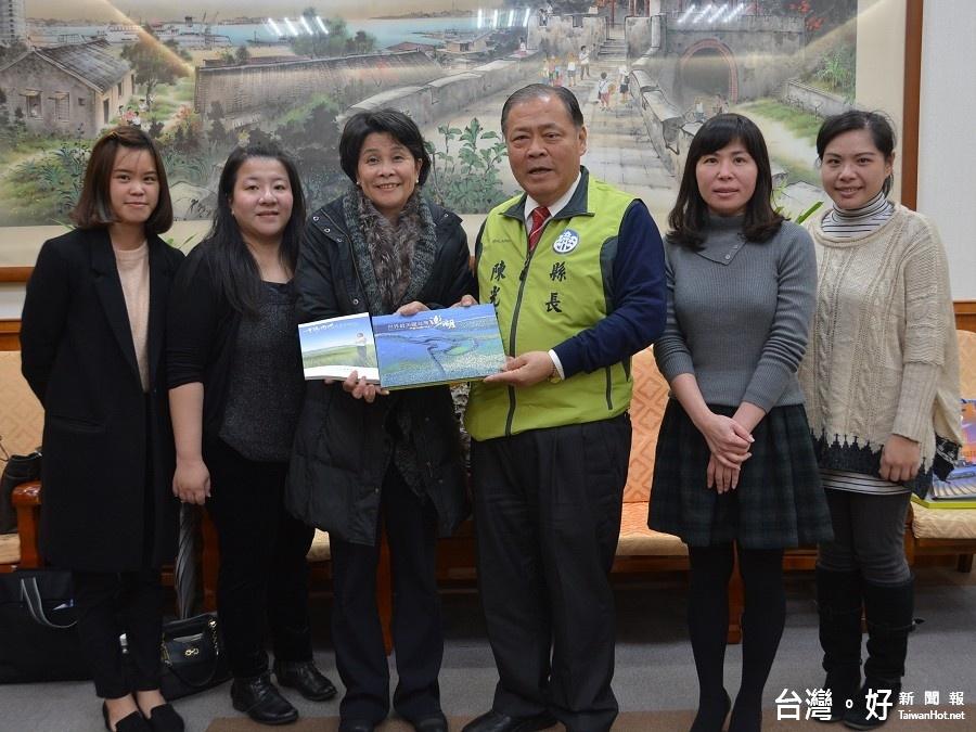 《旺報》兩岸徵文頒獎典禮將在澎湖舉辦 陳光復表示歡迎