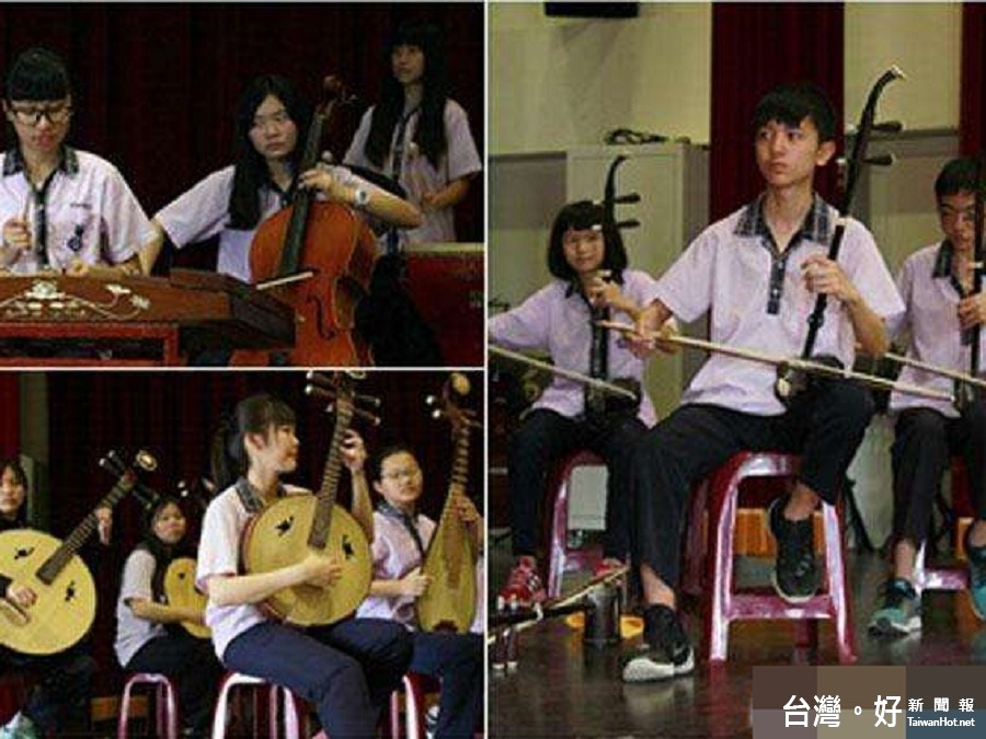 全國學生音樂比賽 壯圍國中絲竹樂團締造三連霸