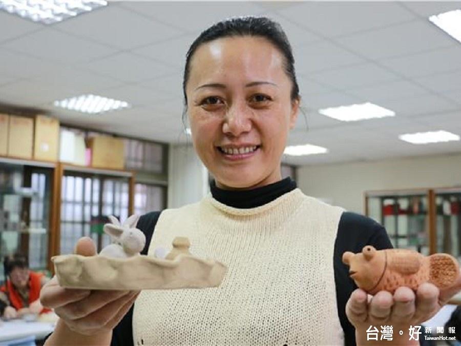拓展原民商機 花蓮市開設陶藝伴手禮研習班