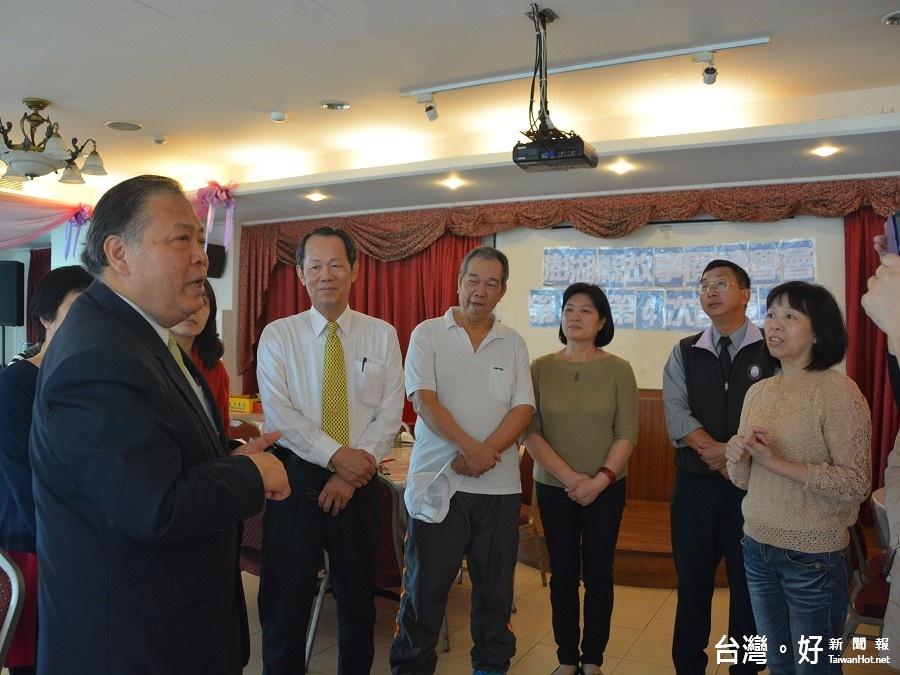 澎湖故事閱讀學會召開會員大會 陳光復到場致意勉勵