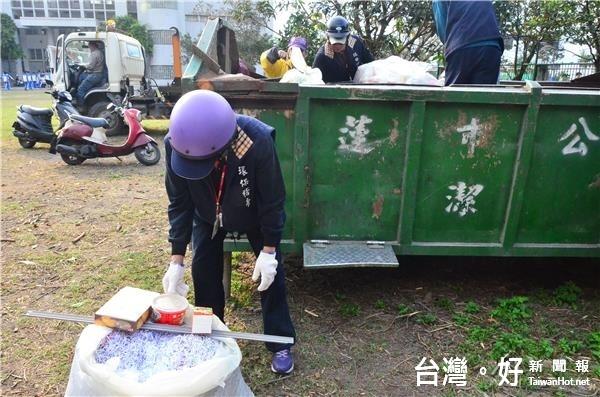 避免未落實資源回收遭罰 花市清潔隊抽查21處機關及學校
