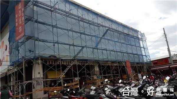 花蓮重慶市場換新妝 迎接新年新樣貌