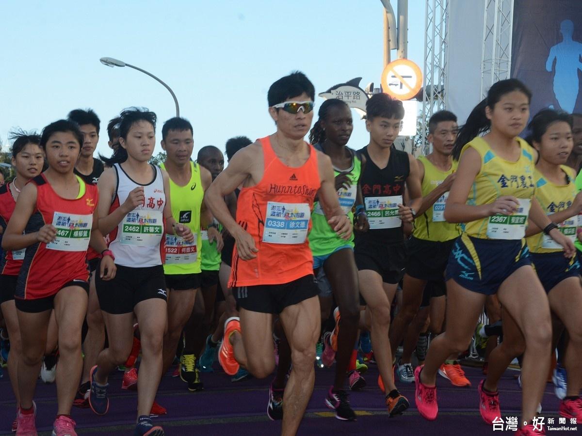 澎湖遠航馬拉松 肯亞包辦男女組冠軍