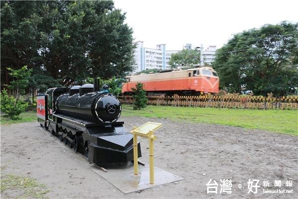 打造鐵道部落特色 吉寶竿火車頭意象吸睛