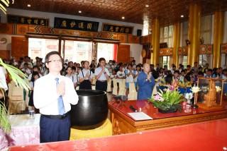 員林禪寺做慈善公益 捐助學金5鄉鎮市學童受惠