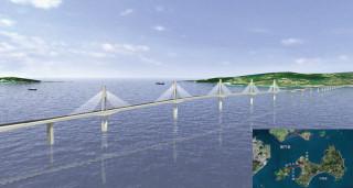金門大橋透視圖