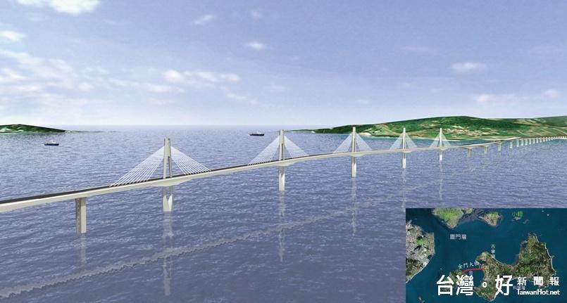 金門大橋工程解約 通車延至2020年