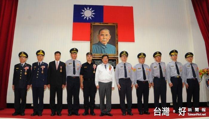 出席市府警察節慶祝大會 鄭文燦:要當警察最有力的後盾