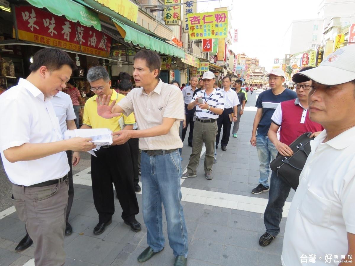 恢復北港古鎮市容 議員籲打通騎樓並協助安置攤販