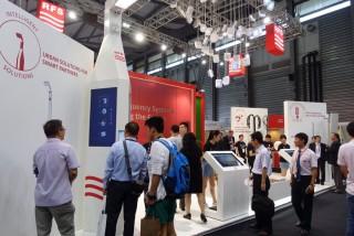 由GSMA主辦的「2016世界移動大會MWC-上海」今(29)日盛大展開,總計有超過7萬人和1000家來自全球各地的廠商參與。(圖/天奕科技提供)