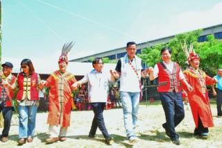 蘆竹區原住民族豐年祭活動,鄭市長:傳承ilisin傳統,祈求祖靈庇佑。