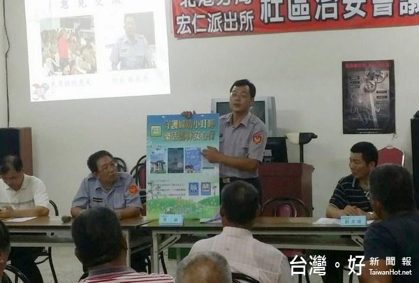 強化民眾防犯知識 北港分局宣導暑期青春專案