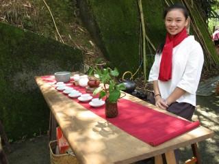 竹坑溪步道茶席