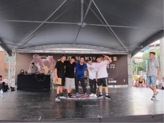 新北FUN街頭27日於三重區引爆第一場預賽。(圖/記者黃村杉攝)。