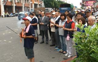 新竹果菜市場普渡 城隍遶境保平安
