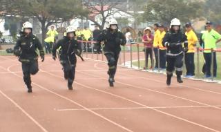 竹市義消集訓 力拼全國競技七連霸