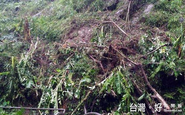 梅姬颱風重創自然步道 12處持續封閉搶修