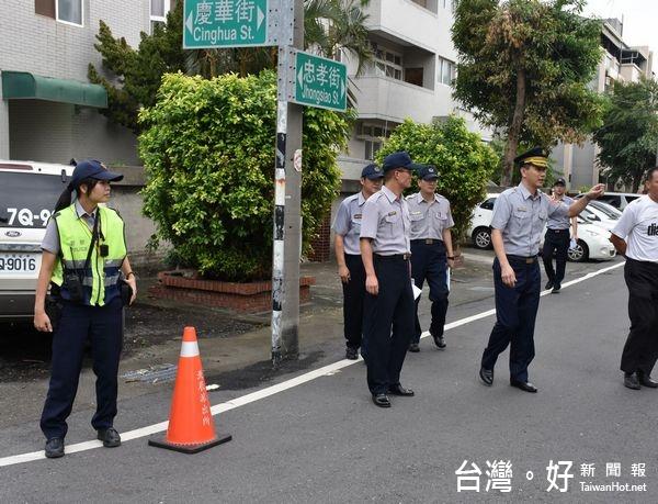 因應轄區突發狀況 北港分局執行駐地安全防護演習