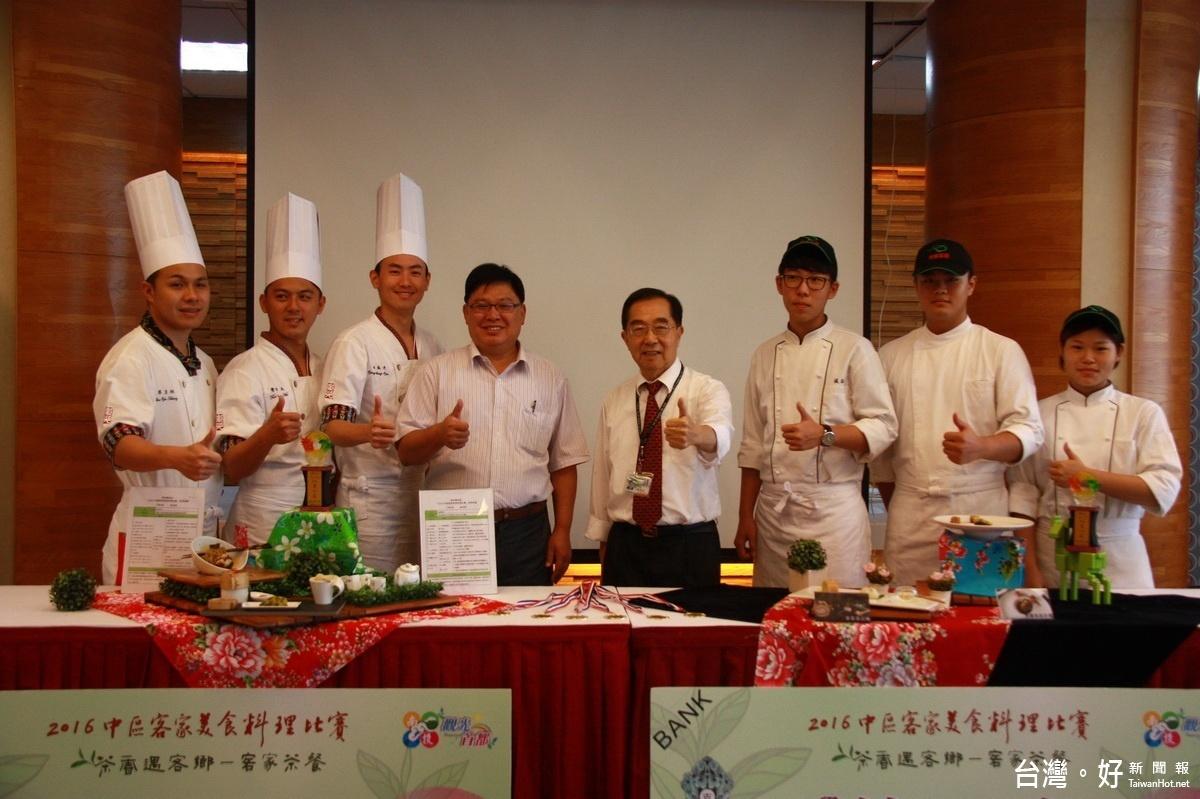 茶博客家美食料理賽 同德家商師生雙雙奪冠