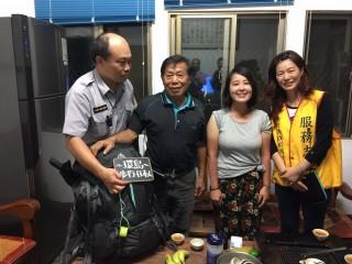 日籍女背包客伊藤感謝雙冬警方協助。