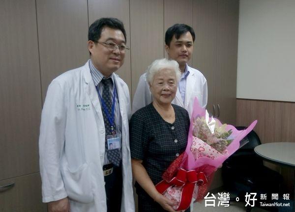 8旬婦跌倒背部骨折 微創「椎體成形術」助1天內復原