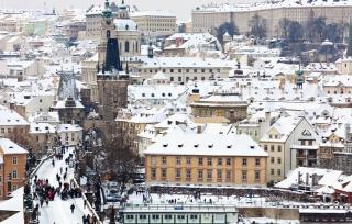 被白雪所覆蓋的歐洲,像是只出現在童話裡的夢幻之都。(圖/喜鴻假期提供)