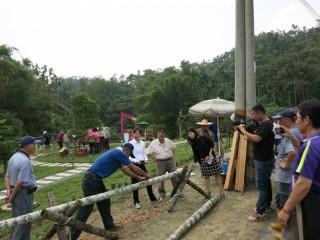 廢棄檳榔樹變身利用 中埔瑞豐社區成功打造紫薇森林