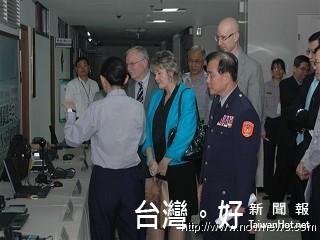 國際智慧城市創辦人訪市警局 讚揚新北市為科技防衛城