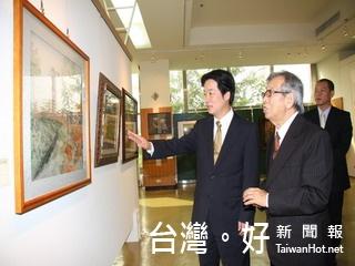 台南美景躍然紙上 2011台南百年好風光特展開幕