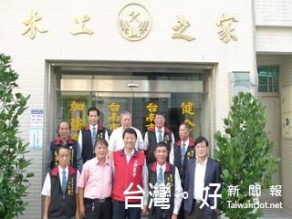 台南市職業木工工會理事長方澄科力挺謝龍介