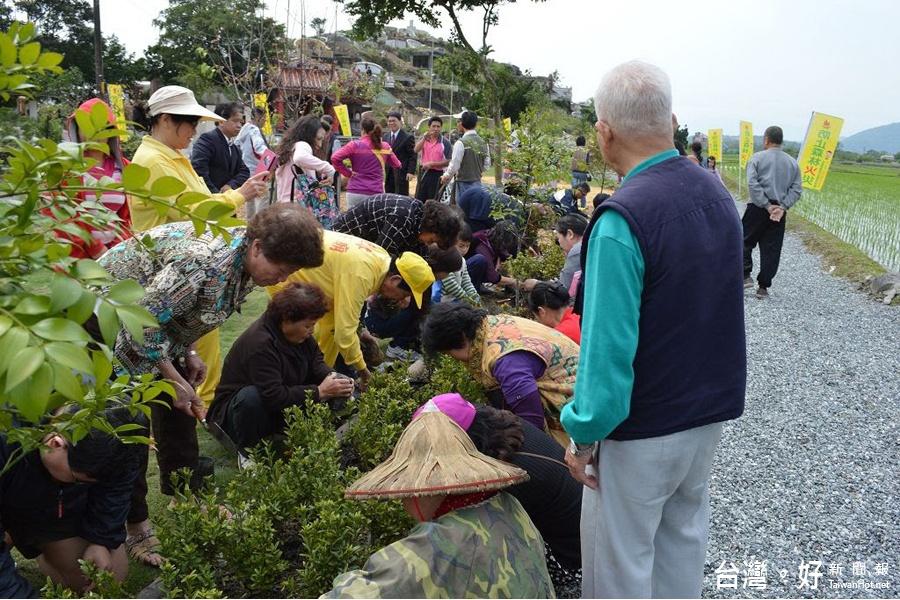 營造美麗家園 羅東林管處補助籌備植樹活動
