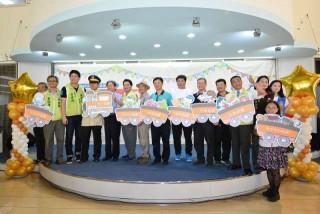彰化商圈聯合行銷記者會-商圈行銷巡迴列車啟動儀式。