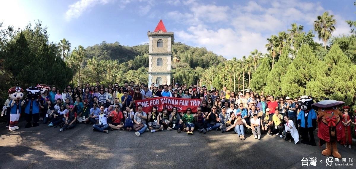 印尼150家旅行業踩線團 深度感受南投之美