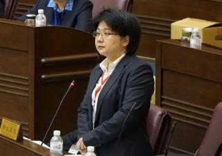 桃園市政府衛生局長蔡紫君。