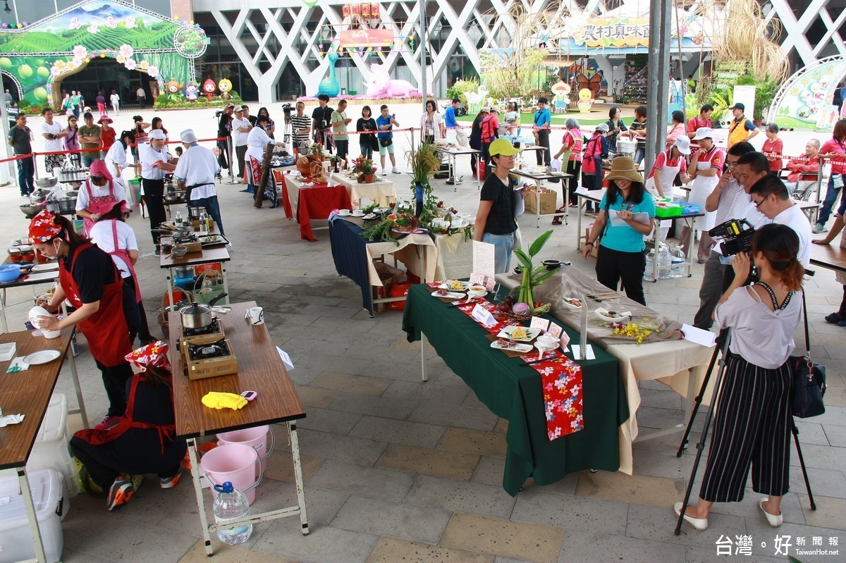 農村再生社區美食賽 中台灣4縣市選手秀廚藝
