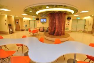 失智症交誼廳大樹
