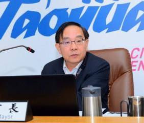 副市長王明德表示,觀音區營造安全的居住環境,獲得國際安全社區認證,值得各鄰里借鏡參訪。