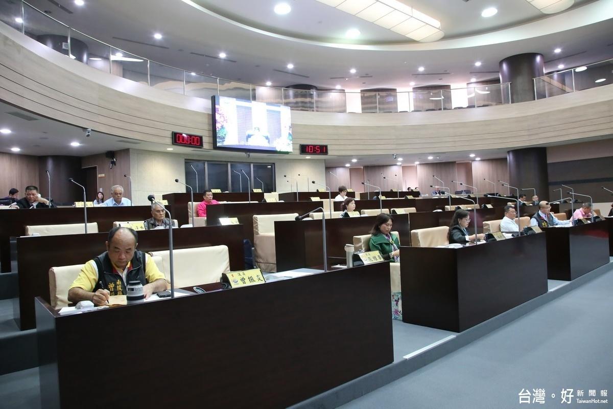南縣105年度議會會議落幕 刪1219.9萬預算