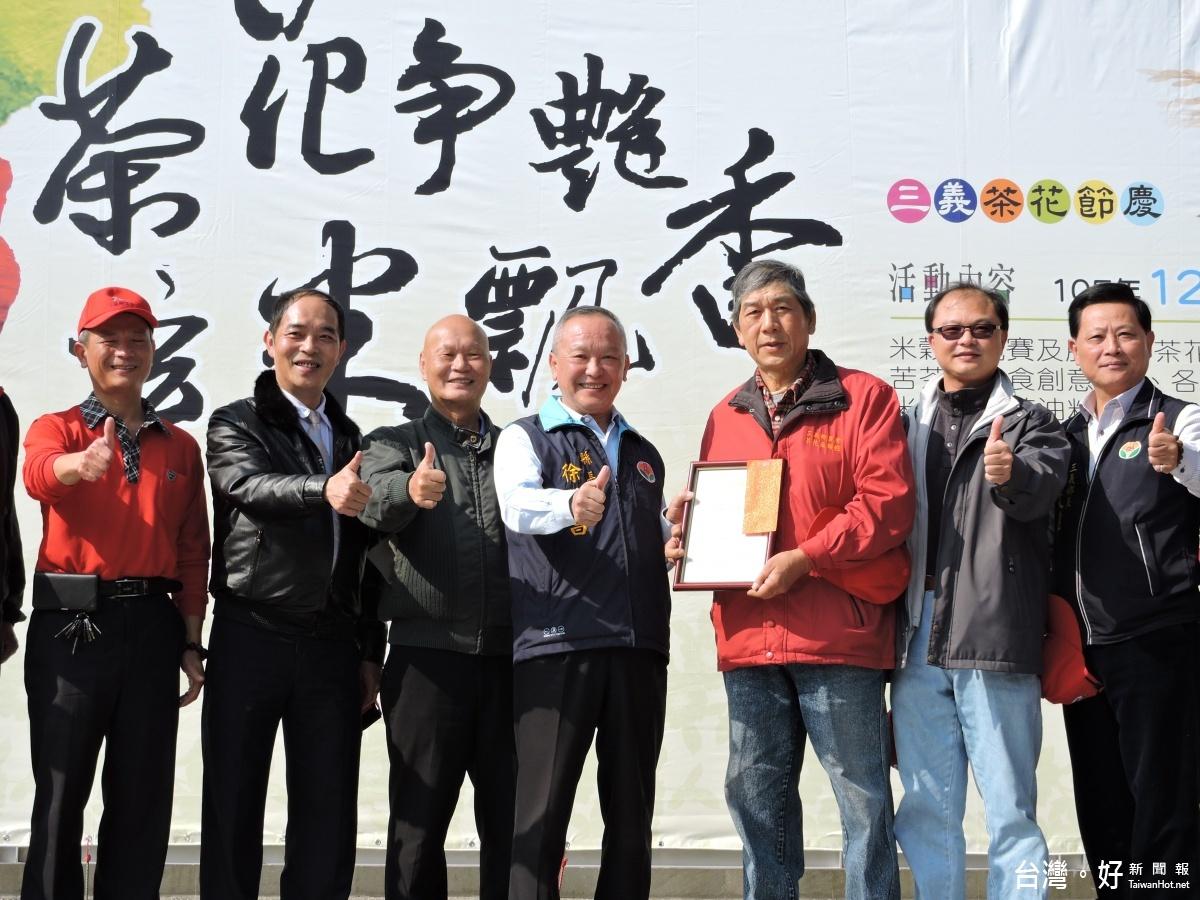 三義茶花節慶揭幕 米食DIY、才藝表演邀民眾同樂