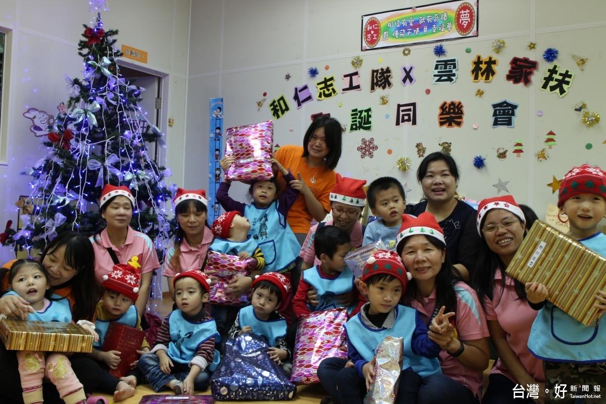 雲林家扶溫馨耶誕活動 助慢飛天使搭起薑餅屋