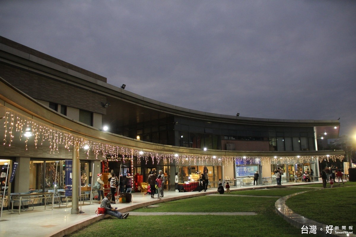 台東美術館歲末藝術市集 聖誕點燈儀式繽紛吸睛