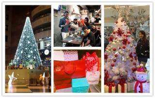 又到了耶誕、跨年的跑趴季節,各家業者紛紛推出應景的商品或陳設,就是希望創造出更高的曝光率與業績。(圖/正官庄提供)