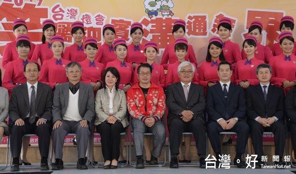 台灣燈會禮賓大使笑靨迎賓 外語志工溝通無界